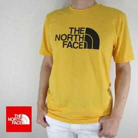 ノースフェイス THE NORTH FACE Tシャツ 半袖 メンズ カットソー NF0A3VHK / ZE1 / TNF YELLOW HEATHR サイズ:S〜L