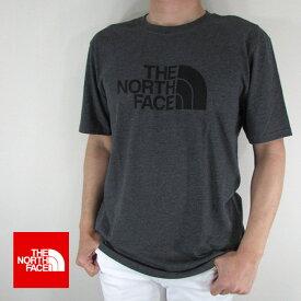 ノースフェイス THE NORTH FACE Tシャツ 半袖 メンズ カットソー NF0A3VHK / DYZ / TNFDARK GREYHTHR サイズ:M/L
