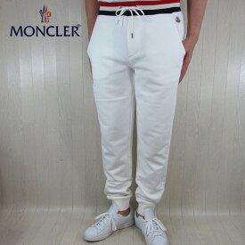 モンクレール MONCLER スウェット パンツ メンズ スエット ボトムス 8704500 V8007 / 34 / ホワイト サイズ:S〜XL