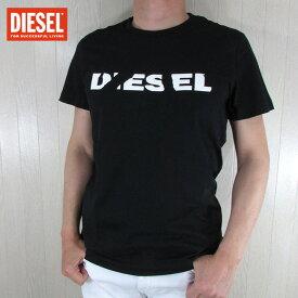 DIESEL ディーゼルメンズ トップス 半袖 Tシャツ T-DIEGO-BROK / 900 / ブラック サイズ:S〜3XL