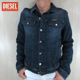 ディーゼル DIESEL メンズ ブルゾン ジャケット デニムジャケット ELSHAR-NE 084UB / 01 / ブルー サイズ:L