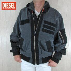 ディーゼル DIESEL メンズ ブルゾン ジャケット デニムジャケット D-EEJACK-NE OLAUH / 02 / グレー サイズ:L