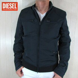 ディーゼル DIESEL ジャケット シングルライダース ブルゾン JEFFIR-R / 81E / ネイビー 紺 サイズ:M〜XL