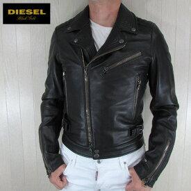 ディーゼル ブラックゴールド DIESEL BLACK GOLD ジャケット メンズ レザージャケット 本革 レザー LORENZO / 900 / ブラック サイズ:46/48/50