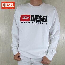 ディーゼル DIESEL メンズ プルオーバー スウェット トレーナー S-GIR-DIVISION / 100 / ホワイト 白 サイズ:M〜XL
