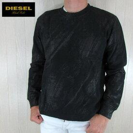 ディーゼル ブラックゴールド DIESEL BLACK GOLD メンズ プルオーバー スウェット トレーナー SDIKILO-LF / 900 / ブラック サイズ:S/M/L