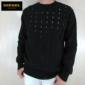 ディーゼル ブラックゴールド DIESEL BLACK GOLD メンズ ニット セーター KAELEB / 900 / ブラック サイズ:M/L