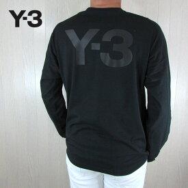 Y-3 ワイスリー YOHJI YAMAMOTO メンズ Tシャツ 長袖 カットソー ロンT FJ0369 / ブラック サイズ:S〜XL