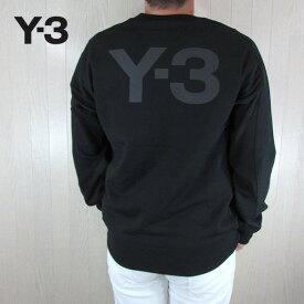 Y-3 ワイスリー YOHJI YAMAMOTO メンズ トレーナー スウェットシャツ プルオーバー FJ0350 / ブラック サイズ:S〜XL