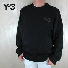 Y-3 ワイスリー YOHJI YAMAMOTO メンズ スウェット プルオーバー FJ0427 / ブラック サイズ:S〜XL