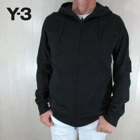 Y-3 ワイスリー YOHJI YAMAMOTO メンズ ジップ パーカー スウェット フード FJ0344 / ブラック 黒 サイズ:S〜XL