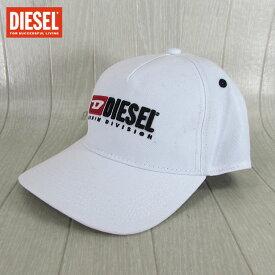 ディーゼル DIESEL キャップ CAP 帽子 男女兼用 ユニセックス CAKERYM-MAX / 100 / ホワイトサイズ:2
