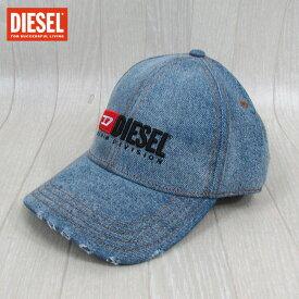 ディーゼル DIESEL キャップ CAP 帽子 男女兼用 ユニセックス CIWAS HAT / 1 / ブルー サイズ:1/2
