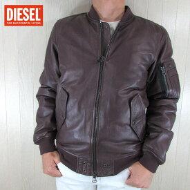 ディーゼル DIESEL ジャケット メンズ レザージャケット L-SHADOW / 62E / ボルドー サイズ:L