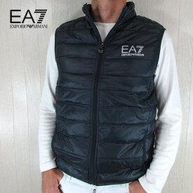 エンポリオアルマーニ EA7 EMPORIO ARMANI メンズ ダウン ベスト アウター 8NPQ01 PN29Z / 1578 / ネイビー サイズ:S〜3XL