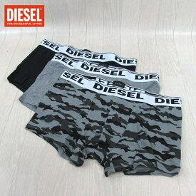 ディーゼル DIESEL メンズ ボクサーパンツ 3枚組 アンダーウェア 00CKY3-RHASO / E4111 / グレー サイズ:S〜L