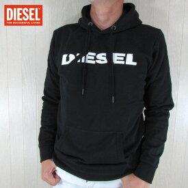 ディーゼル DIESEL パーカー メンズ スウェット S-AGNES-BRO / 900 / ブラック 黒 サイズ:S〜XL