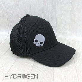 ハイドロゲン HYDROGEN メンズ キャップ 帽子 メッシュキャップ RG3005 / 007 / ブラック 黒