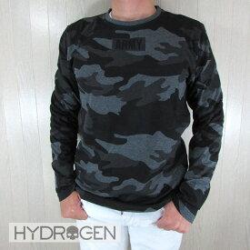 ハイドロゲン HYDROGEN メンズ Tシャツ 長袖 カットソー 250621 / 602 / グレーカモサイズ:S〜XXL