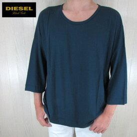 ディーゼル ブラックゴールド DIESEL BLACK GOLD メンズ トップス 七分袖 Tシャツ カットソー TITUANY / 85L / ネイビー サイズ:M/L