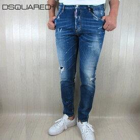 ディースクエアード DSQUARED2 ジーンズ メンズ デニム ジーパン ボタンフライS71LB0593 / 470 / ブルー サイズ:46〜50