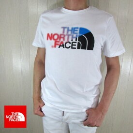 ノースフェイス THE NORTH FACE メンズ 半袖 ロゴ プリント Tシャツ NF0A4M6O / BBD / ホワイト 白 サイズ:S/M/L