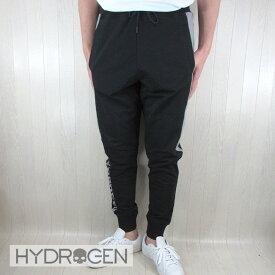 ハイドロゲン HYDROGEN メンズ パンツ リラックスパンツ 265602 / 206 / ブラック 黒/グレー サイズ:S〜3XL