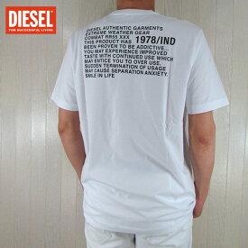 ディーゼル DIESEL メンズ 半袖 Tシャツ カットソー トップスT-JUST-Y1 / 100 / ホワイト 白 サイズ:S〜XXL