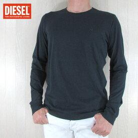 ディーゼル DIESEL メンズ 長袖 Tシャツ カットソー トップス ロングTシャツ T-DIEGO-LONG-A-R / 81E / ネイビー サイズ:M/L/XL