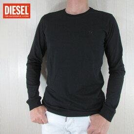 ディーゼル DIESEL メンズ 長袖 Tシャツ カットソー トップス ロングTシャツ T-DIEGO-LONG-A-R / 900 / ブラック 黒 サイズ:S〜XXL
