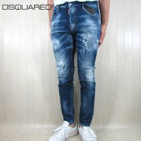 ディースクエアード DSQUARED2 メンズ デニム ジーパン SKATER JEAN スケータージーンズ S74LB0764 / 470 / ブルー サイズ:44/46/48