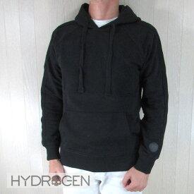 ハイドロゲン HYDROGEN メンズ パーカー プルオーバー スウェット 274628 / 007 / ブラック 黒 サイズ:S〜XL
