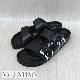 ヴァレンティノ VALENTINO メンズ サンダル ビルケンシュトック コンフォートサンダル SY0S0C48RKW/0NI/ブラック 黒 サイズ:EU40/41/42