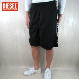 ディーゼル DIESEL メンズ ジャージ パンツ ショートパンツ P-HITOSHI/900/ ブラック 黒 サイズ:M/L/XL/XXL/3XL