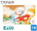 処方箋不要 ニチコン EX-UV (2枚) ハードコンタクト トータルワンプラス