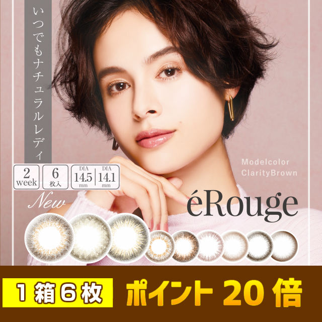 【送料無料】エルージュ eRouge (1箱6枚入) 1箱 使用期限4年以上 ラッキーシール付き