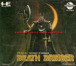 【中古】【箱説あり】デスブリンガー THE KNIGHT OF DARKNESS (PCエンジン CD-ROM2)