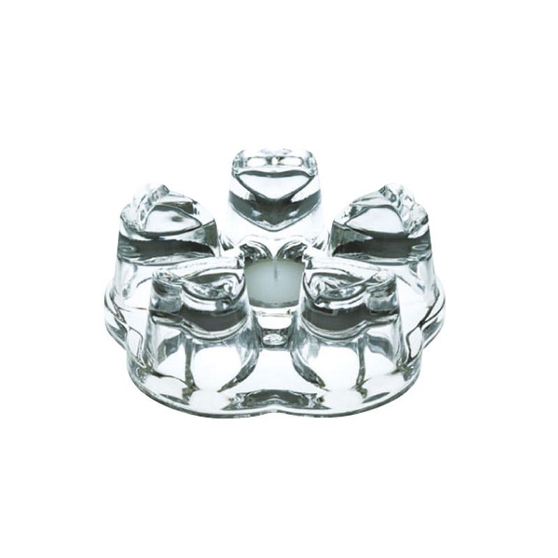 オシャレ で かわいい ガラス キャンドル ティーポットウォーマー