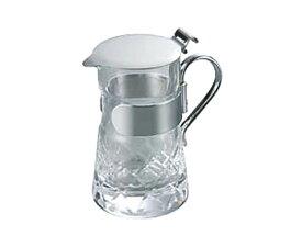 日本製 コーヒー ・ ティー 用品 プロ仕様 中身が見える ガラス 製 ミルク入 (中) 業務用 可