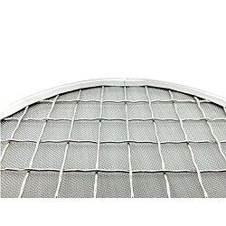 日本製|固形燃料用焼網155mm|ステンレス|熱拡散用下網|焼き汁止め付焼き網