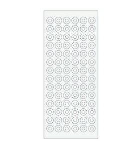システム手帳 リフィル ナローサイズ(能率ウィック対応) 補強シール