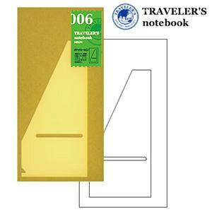 トラベラーズノート リフィル ポケットシールL 006/TRAVELER'S Notebook