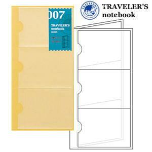 トラベラーズノート リフィル 名刺ファイル 007/TRAVELER'S Notebook