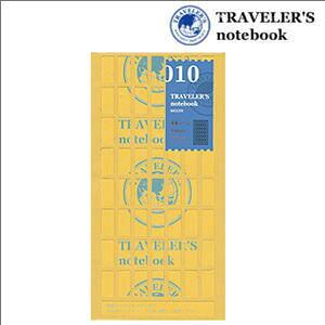 トラベラーズノート リフィル 両面シール 010/TRAVELER'S Notebook