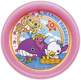 ビニールプール 丸形 マリンパラダイスプール ピンク 直径100cm