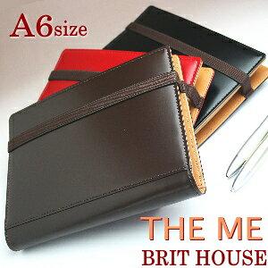 BRITHOUSE ブリットハウス THEME 手帳カバー A6サイズ (ノートカバー THEME)