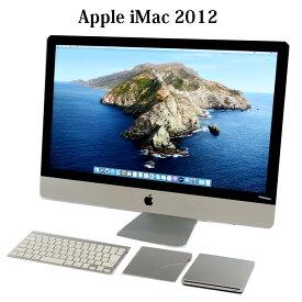 【送料無料】Apple iMac13,2【Core i5/16GB/1TB/27型液晶/スーパードライブ/無線LAN/macOS Catalina/Bluetooth/Webカメラ】【中古】【中古デスクトップ】【中古一体型】
