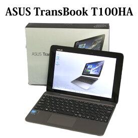ASUS TransBook T100HA-128S【Atom/4GB/eMMC128GB/10.1型液晶/Windows10/無線LAN/Bluetooth/Webカメラ】【中古】【中古パソコン】【ノートパソコン】【タブレット】