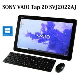 SONY VAIO Tap 20 SVJ2022AJ Core i5 8GB 1TB 20型 無線LAN Windows10 Webカメラ Bluetooth Microsoft Office 中古パソコン デスクトップ 一体型 【中古】