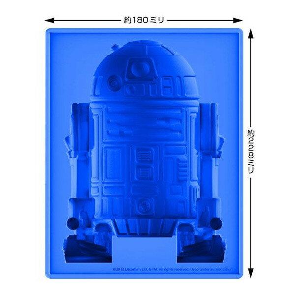 シリコンアイストレー R2-D2 DX【スターウォーズ 製氷皿 ジャンボトレー ドロイド バレンタイン】定形外発送可 1p700円 マジックナイト KT89534